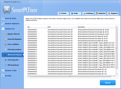 Fix Windows Errors - SmartPCFixer™